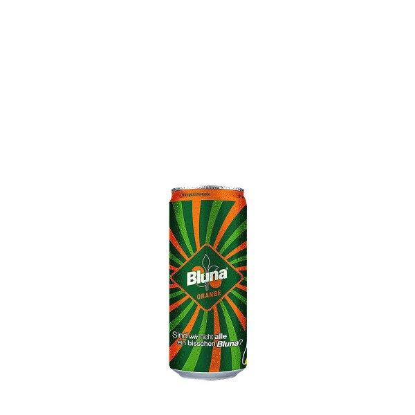 Bluna Drink Dose 0,33 liter Pfand Einweg